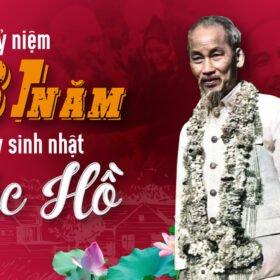 Ky Niem 131 Nam Sinh Nhat Bac Ho